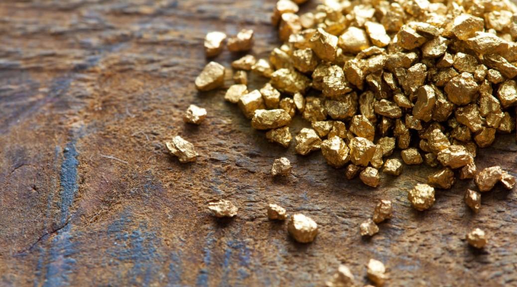 Herstellung von Gold und Silber für Trauringe
