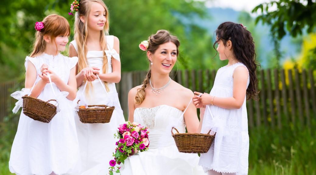 Die lieben Kleinen - Kinder in die Trauzeremonie integrieren