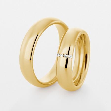 Trauringe 750er gold