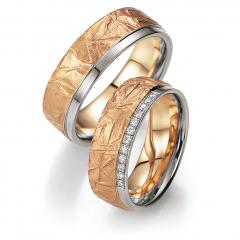 Bayer Gray gold apricot gold Marryring