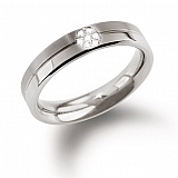 Diamond ring titanium 0129-05