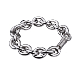 Anchor chain bracelet in stainless steel A80