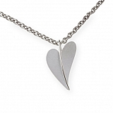 Heart pendant stainless steel AN270