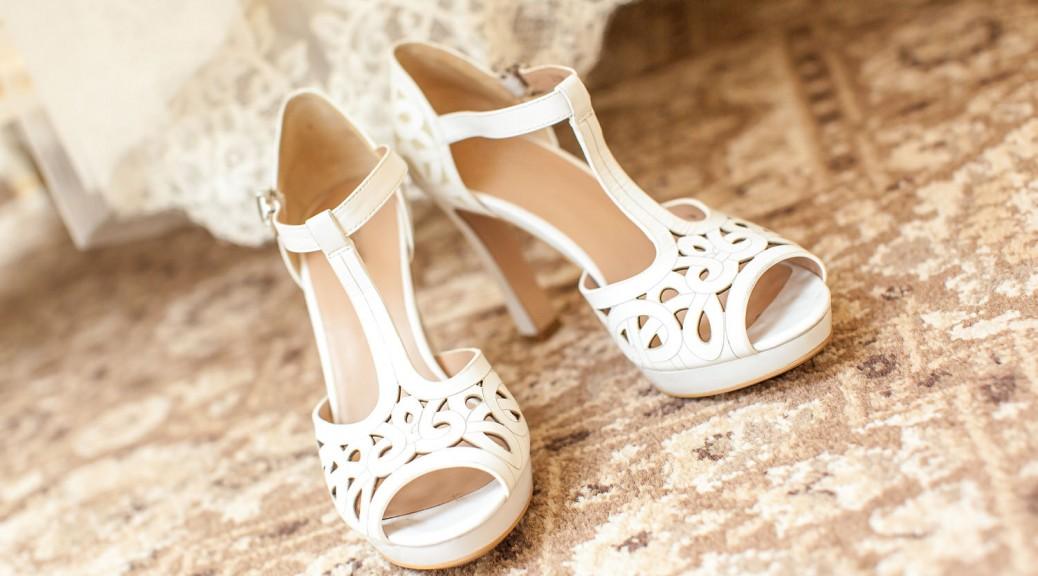 Die große Herausforderung bei den Brautschuhen